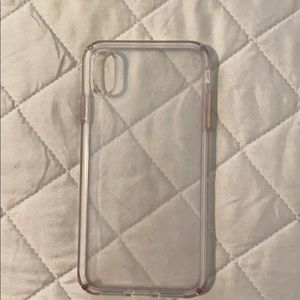 Speck clear case iPhone XS Max